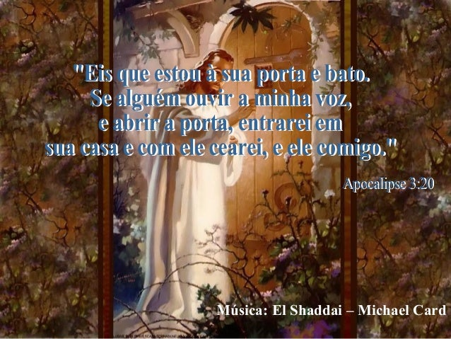 Música: El Shaddai – Michael Card