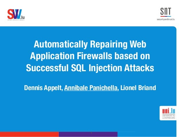research papers on sql injection attacks Sql injection attacks in web application  in review process of research paper, various attacks  sql injection is a software threat that occurs when data is .