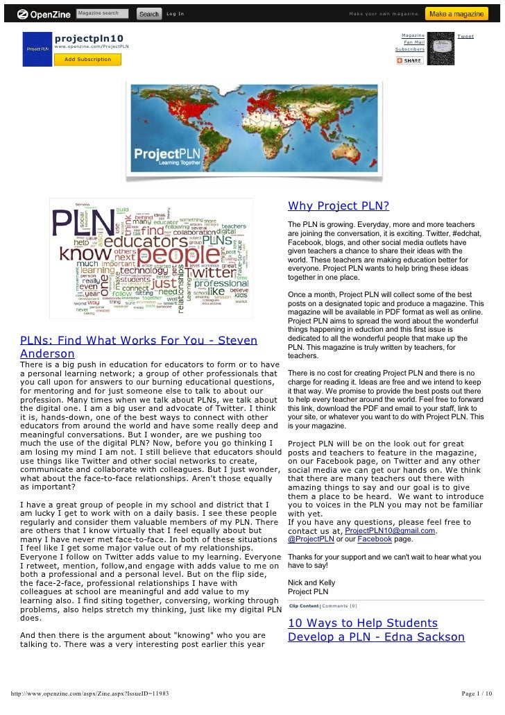 Magazine search              Log In                                      Make your own magazine.                   project...