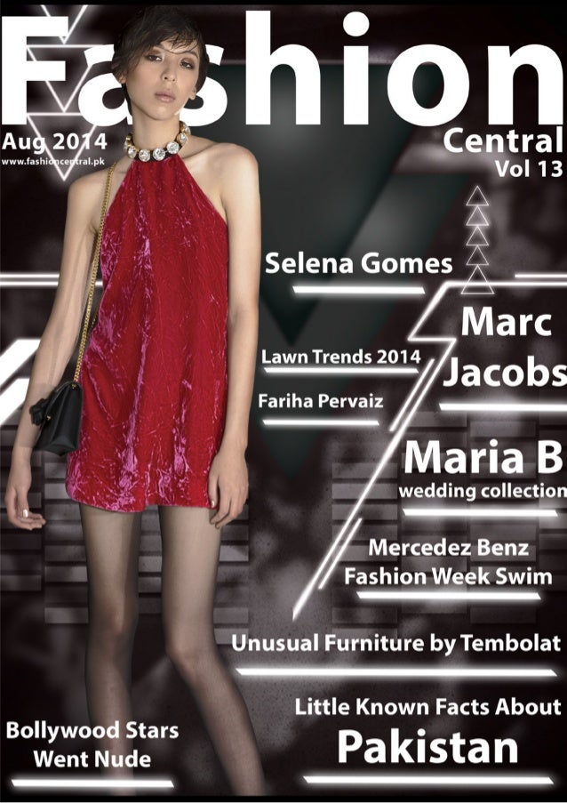 International Fashion Central Magazine Issue Aug 14