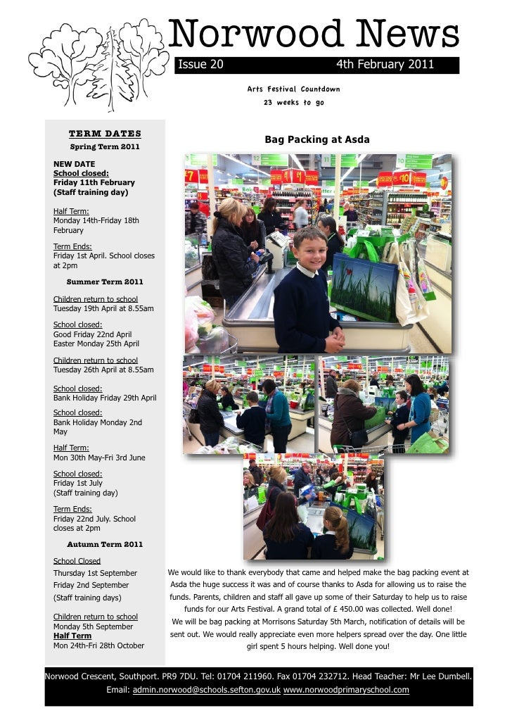 Norwood News                                          Issue 20                                       4th February 2011    ...