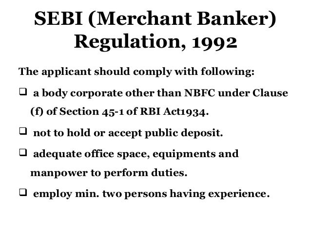 sebi functions and responsibilities Role of securities & exchange board of india  functions & responsibilities:  role and functions of sebi by: ankur212.