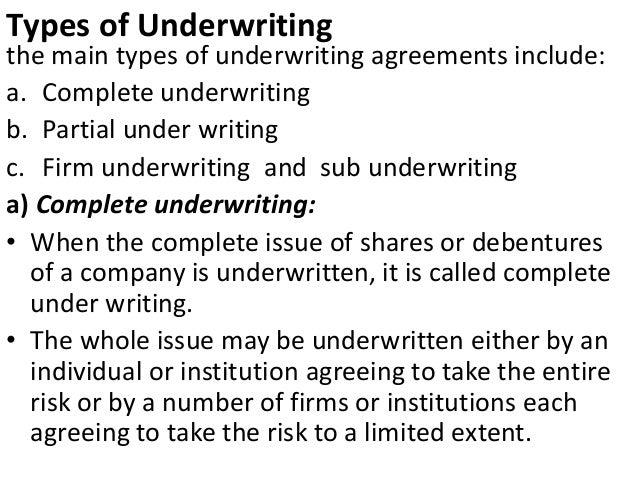 Sub-Underwriting Agreement