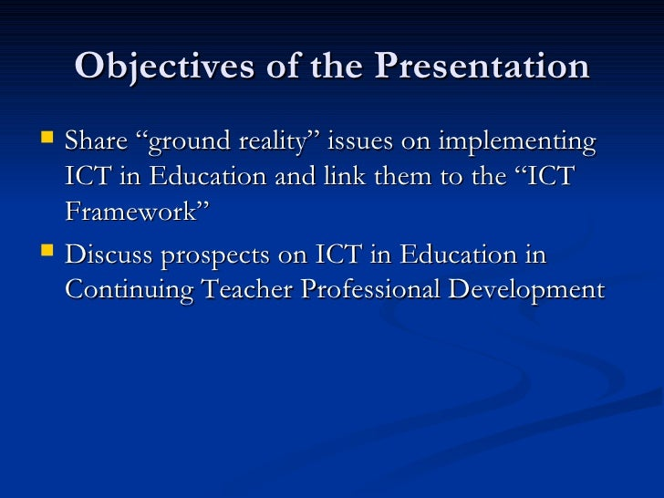 problems and prospect business education in Nigerian education system oduma, c a - business education department the essence or relevance of ict education for teachers was problems & prospects.