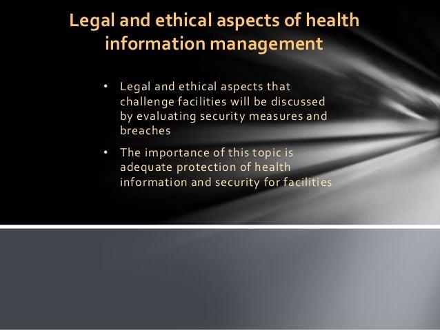 Issues Addressing Health Informatics Topics