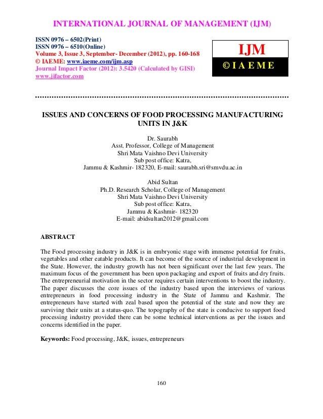International Journal of Management (IJM), ISSN 0976 –MANAGEMENT (IJM)      INTERNATIONAL JOURNAL OF 6502(Print), ISSN 097...