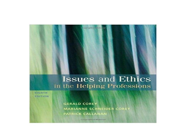 Detail Book Title : Issues and Ethics in the Helping Professions SAB 240 Substance Abuse Issues in Client Service 8th Edit...