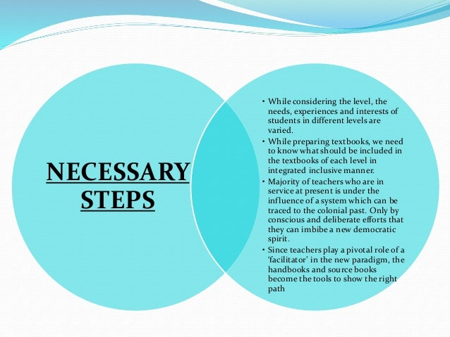 Kerala Curriculum Framework (KCF) 2007, draws upon National Curriculum Framework (NCF) 2005, introduced the concept of iss...