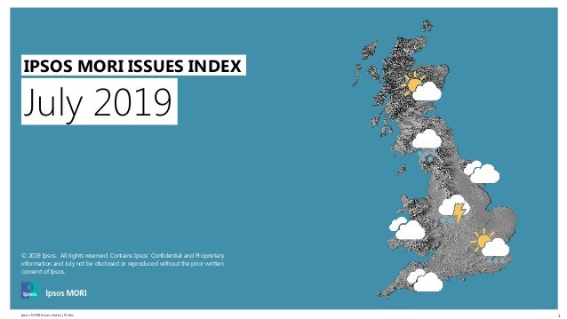 Ipsos MORI Issues Index   Public © 2016 Ipsos. All rights reserved. Contains Ipsos' Confidential and Proprietary informati...