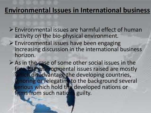 Environmental problems of biscuit industry