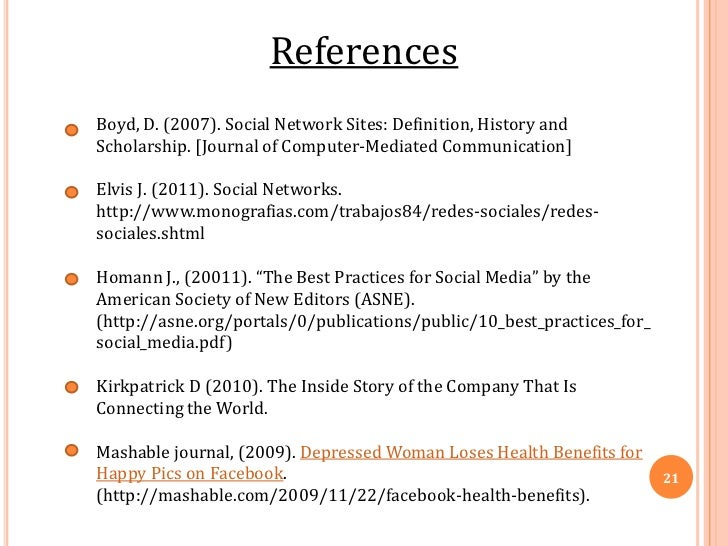Impact of social networking sites on society pdf