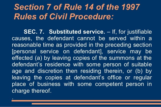 Issues problems in the service of summons processesppt – Civil Summons Form