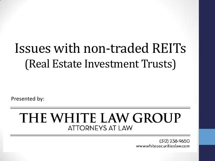 the characteristics of accounting for real estate investment trusts This is an introductory book on real estate investment trusts (reits) that provides an excellent source of information about the characteristics of reits, as well as the risks and rewards involved in investments in reits a graduate degree in business or finance is not required to follow the book.