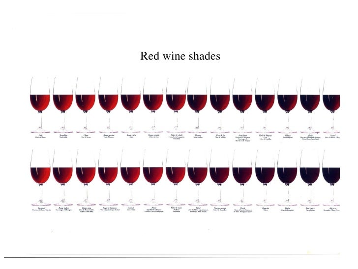 Red wine shades                       HC /12.07