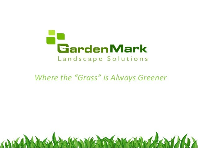 """Where the """"Grass"""" is Always Greener"""
