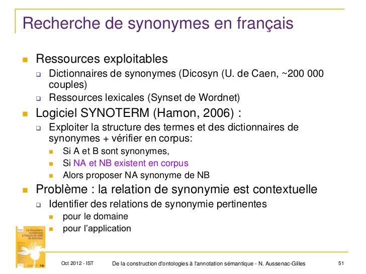 Ist2012 aussenac ontologieannotationweb - Synonyme de construire ...