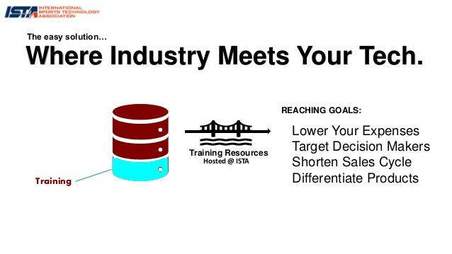 Where Industry Meets Your Tech. The easy solution… Lower Your Expenses Target Decision Makers Shorten Sales Cycle Differen...