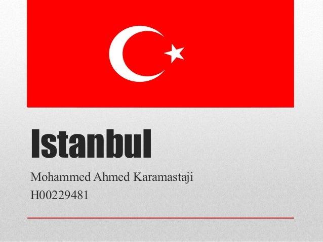 IstanbulMohammed Ahmed KaramastajiH00229481