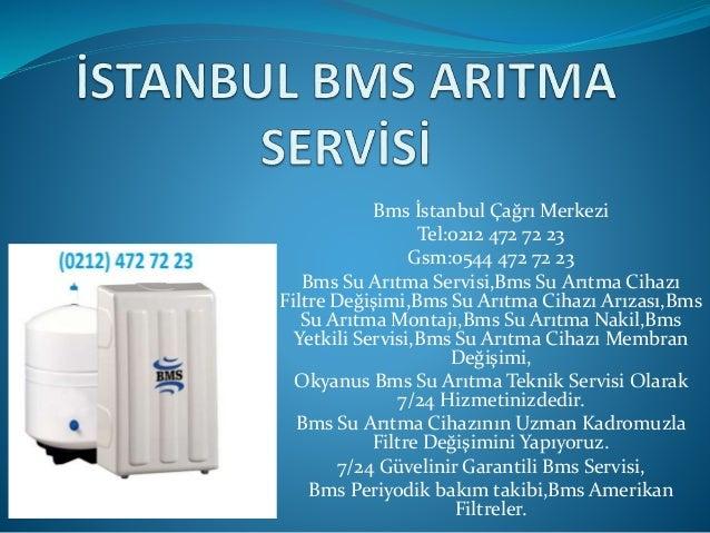 Sariyer Bms Su Aritma Servisi 0212 472 72 23 0544 472 72 23