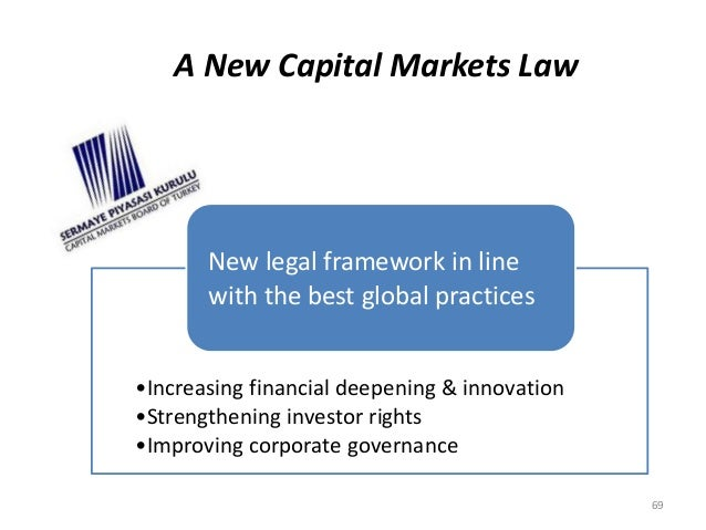 A New Capital Markets Law  New legal framework in line  with the best global practices  •Increasing financial deepening & ...