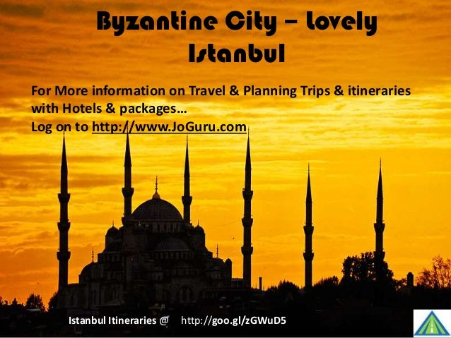 Byzantine City – Lovely Istanbul http://goo.gl/zGWuD5Istanbul Itineraries @ For More information on Travel & Planning Trip...