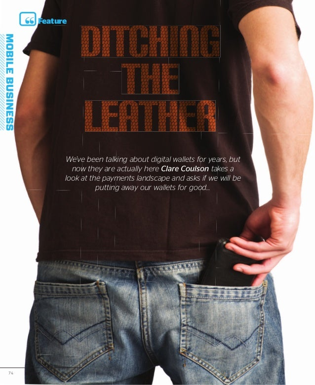 Feature                               Ditching                                  the                               leather ...