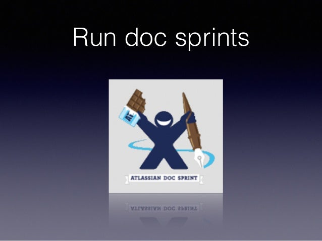 Run doc sprints