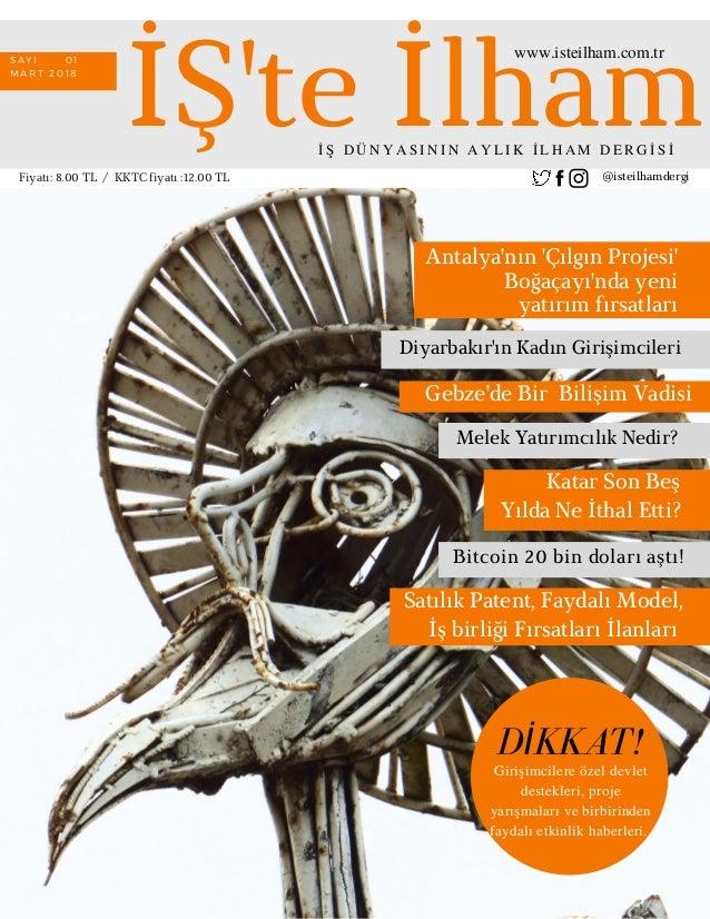 Iste Ilham Businessstart Up Magazinemarch18
