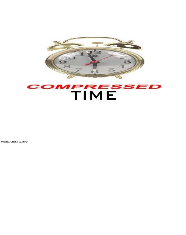 TIMEMonday, October 22, 2012