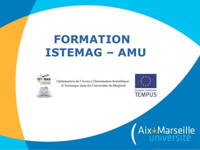 FORMATIONISTEMAG – AMU