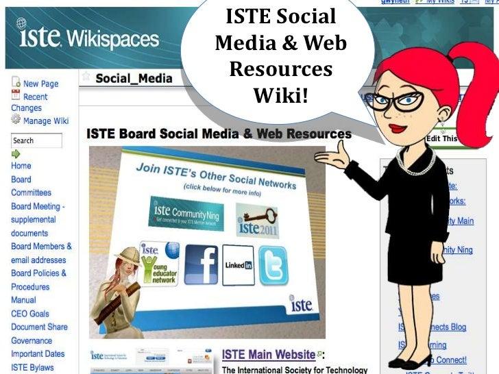 ISTE Social Media