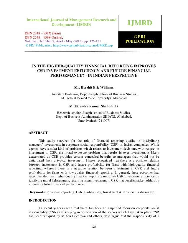 International Journal of Management Research and Development (IJMRD) ISSN 2248- 938X (Print), ISSN 2248-9398 (Online) Volu...