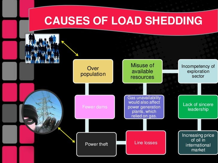 causes and effects of load shedding in pakistan essay Check out our top free essays on effects of load shedding in pakistan to help you write your own essay.