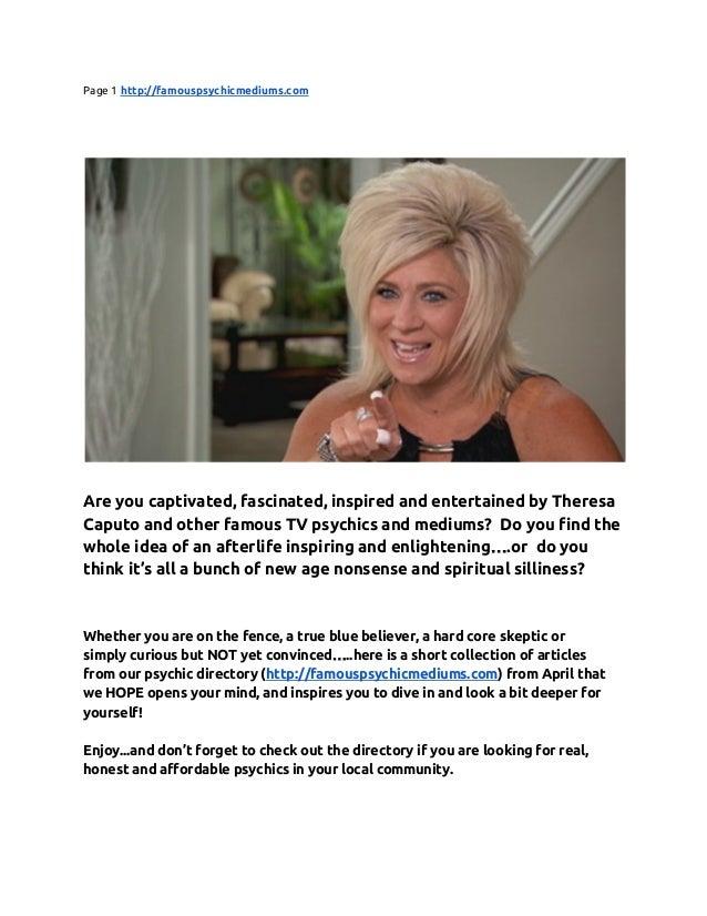 Theresa Long Island Medium Email