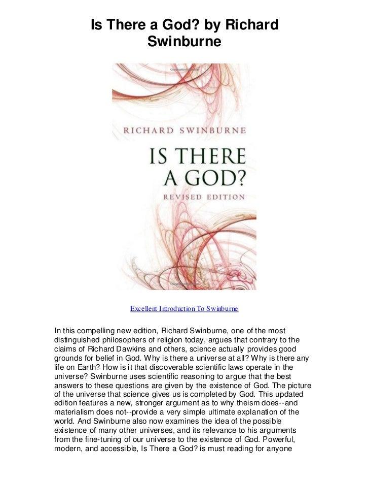is there a god richard swinburne pdf