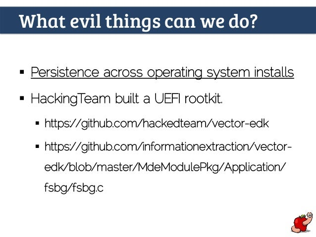 Is there an EFI monster inside your apple? by Pedro Vilaça - CODE BLU…