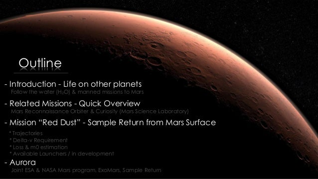 Is there Life on Mars? a Sample Return Mission Concept