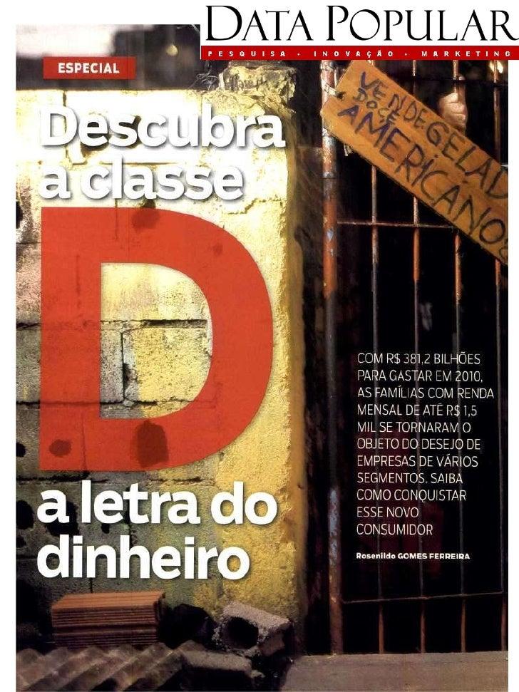 Istoé Dinheiro / Descubra a classe D / 03 01 2010