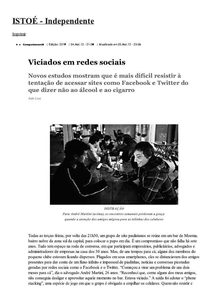 Viciados em Redes Sociais