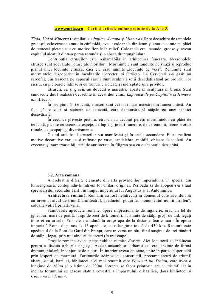 www.cartiaz.ro – Carti si articole online gratuite de la A la ZTinia, Uni şi Minerva (asimilaţi cu Jupiter, Junona şi Mine...