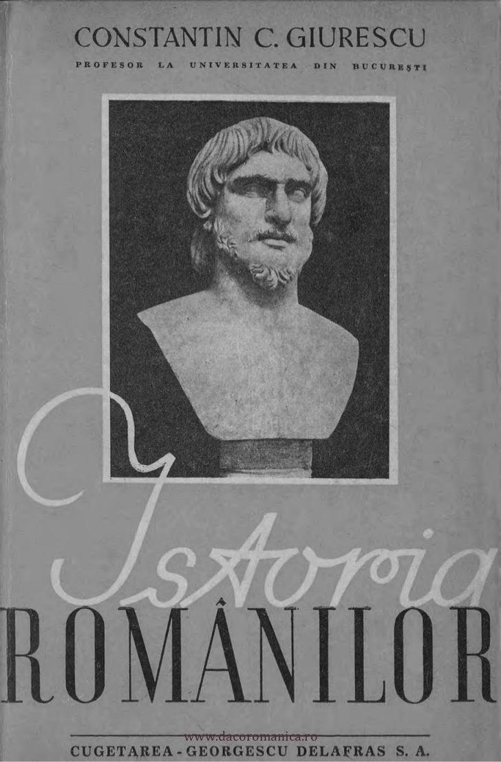 CONSTANTIN C. GIURESCU          PROFESOR LA   UNIVERSITATEA     DIN          DUCIJR.E5TI     II[1                ti       ...