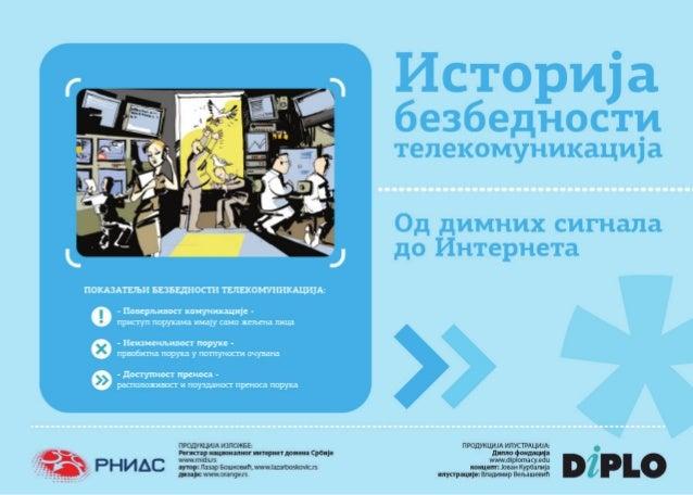 Istorija bezbednosti telekomunikacija - Od dimnih signala do Interneta