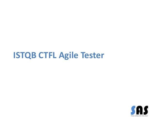 ISTQB CTFL Agile Tester