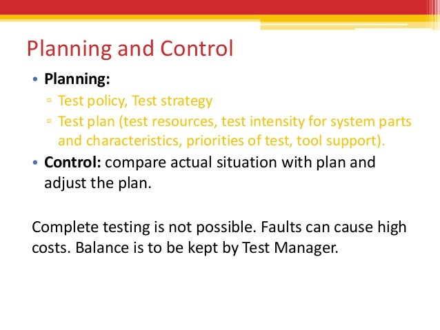 fundamental test process new  activities end control 3