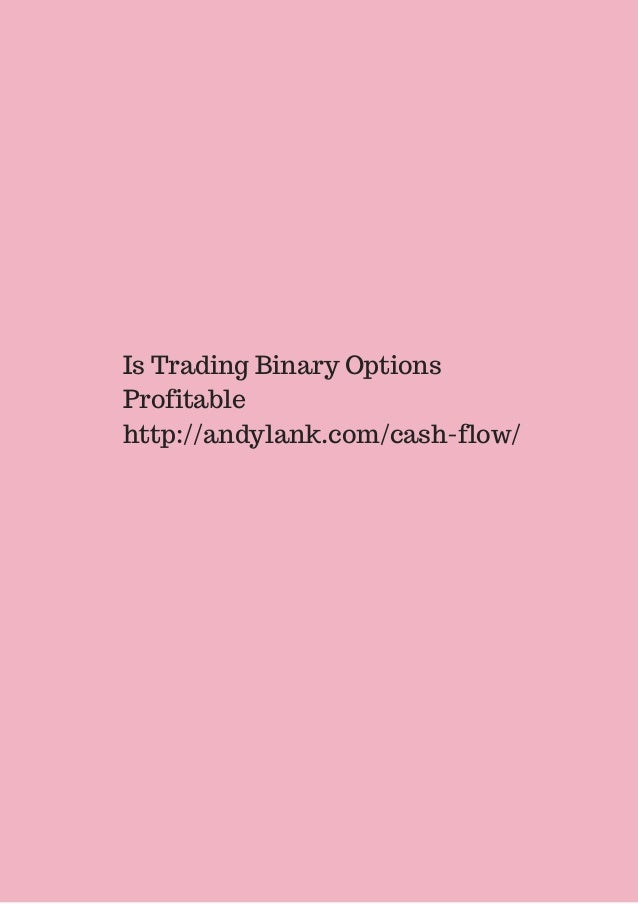 Is binary options profitable
