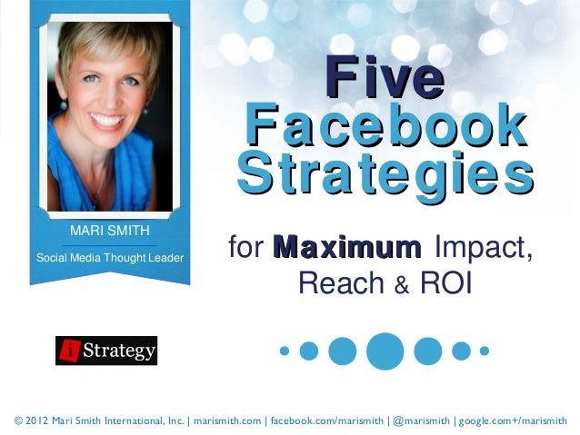 Five                                              Facebook                                              Strategies        ...