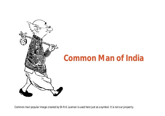 Who Is India's Common Man?