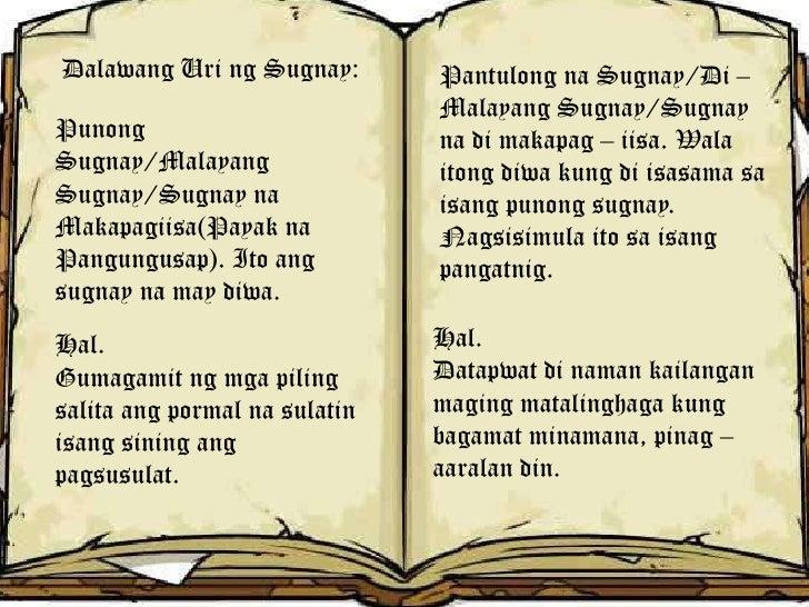 uri ng teksto o sulatin Ang ganitong uri ng teksto ay tumutugon sa tanong na bakit halimbawa: mga editoryal 3 persweysiv-tekstong nangungumbinse o nanghihikayat.