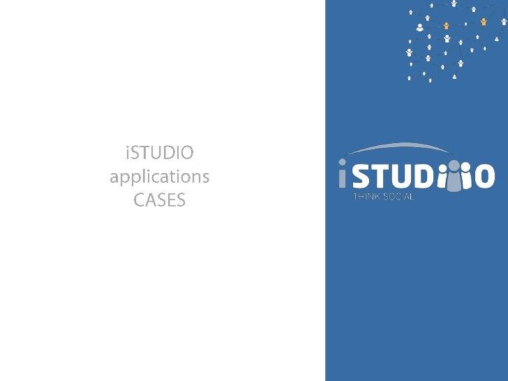 iSTUDIO<br />applications<br />CASES<br />