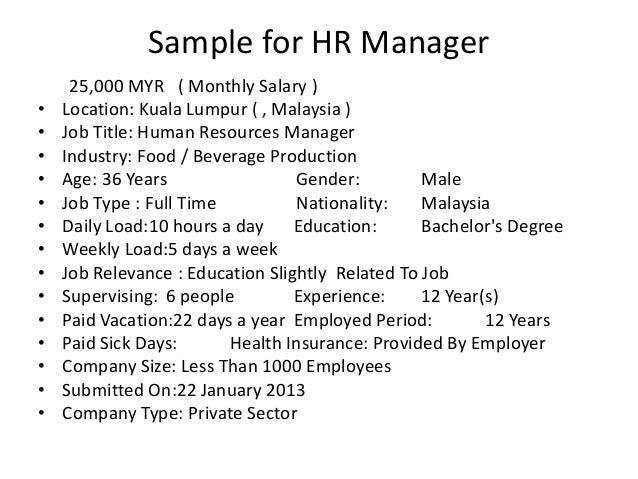 Average and Median Monthly Salary Comparison in Malaysia Maximum: 52,500 MYR Average: 7,598 MYR Median: 5,200 MYR Minimum:...
